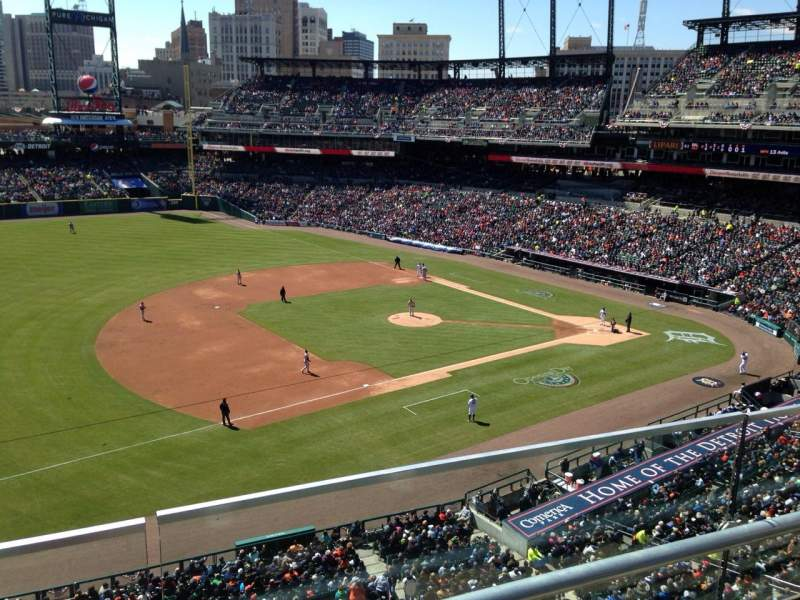 Seating view for Comerica Park Section 337 Row B Seat 20