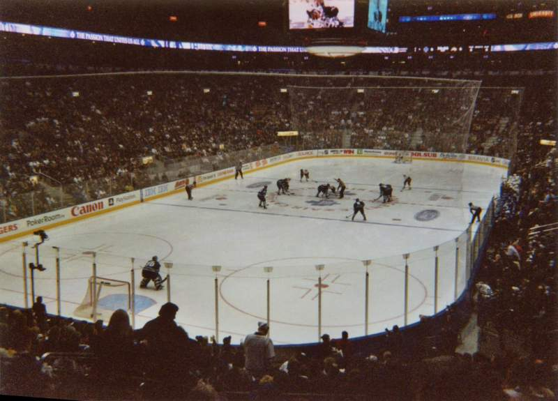 Seating view for Air Canada Centre Section 101