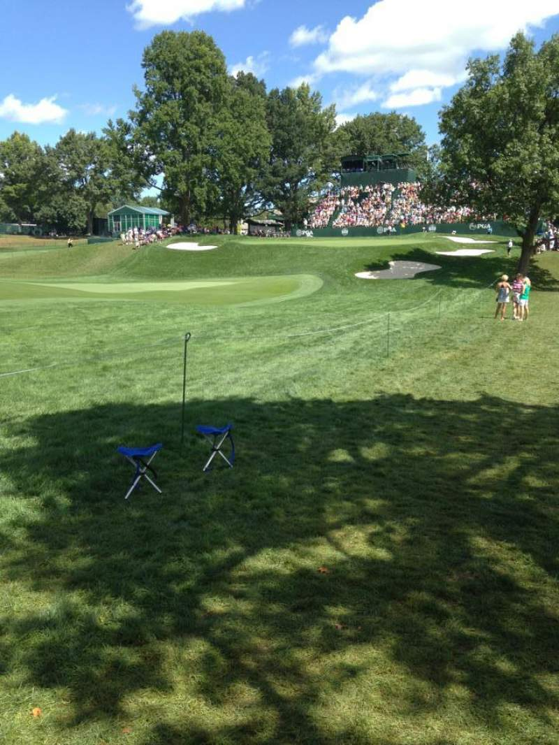 Seating view for Oak Hill Country Club Section 18th Hole