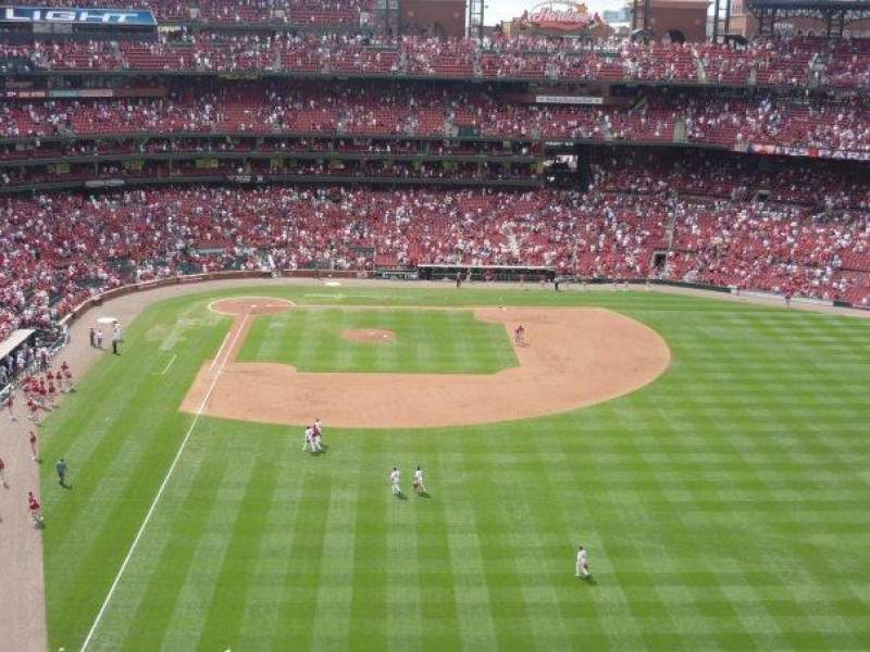 Seating view for Busch Stadium Section 428