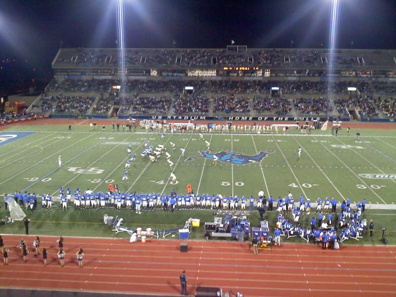 Seating view for UB Stadium Section 327