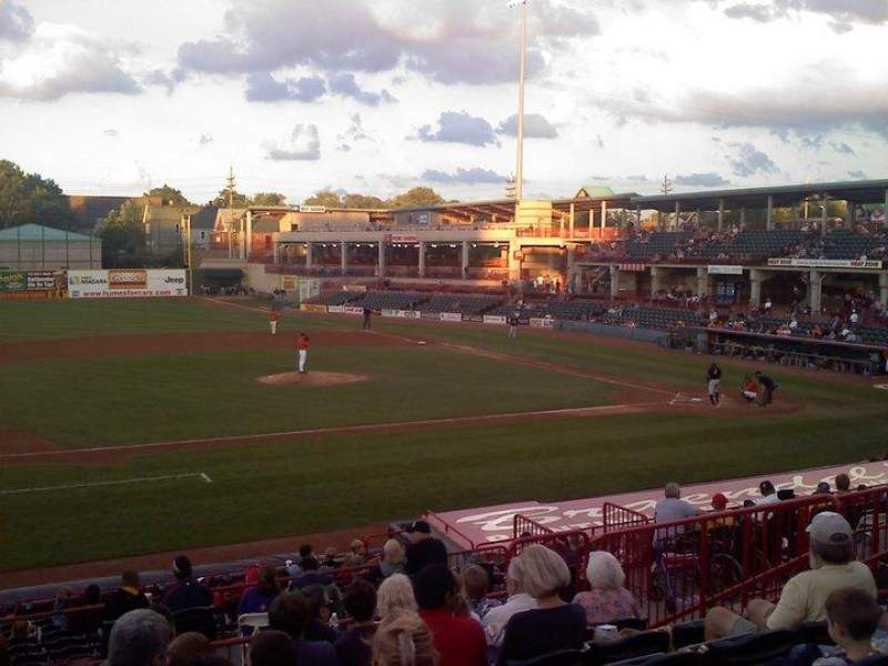 Seating view for UPMC Park Section 210