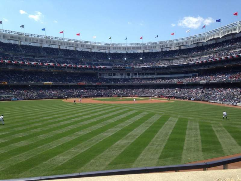 Seating view for Yankee Stadium Section 238 Row 1 Seat 1