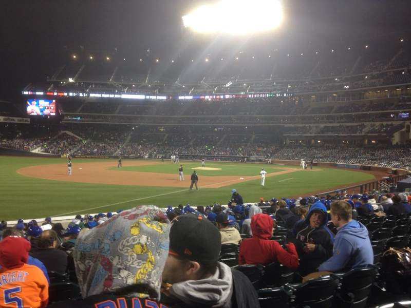 Seating view for Citi Field Section 126 Row 15 Seat 22