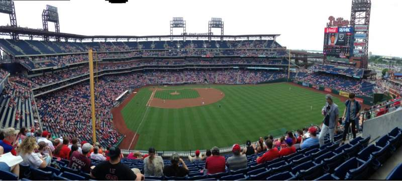 Seating view for Citizens Bank Park Section 304 Row 11 Seat 11
