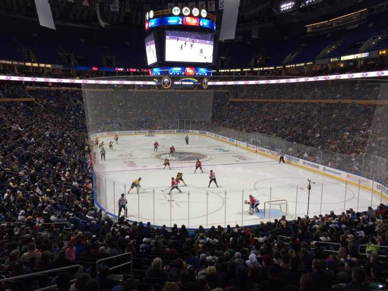 KeyBank Center, section: 200, row: 1, seat: 13