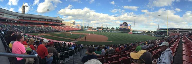 Seating view for Coca-Cola Field Section 116 Row S Seat 24