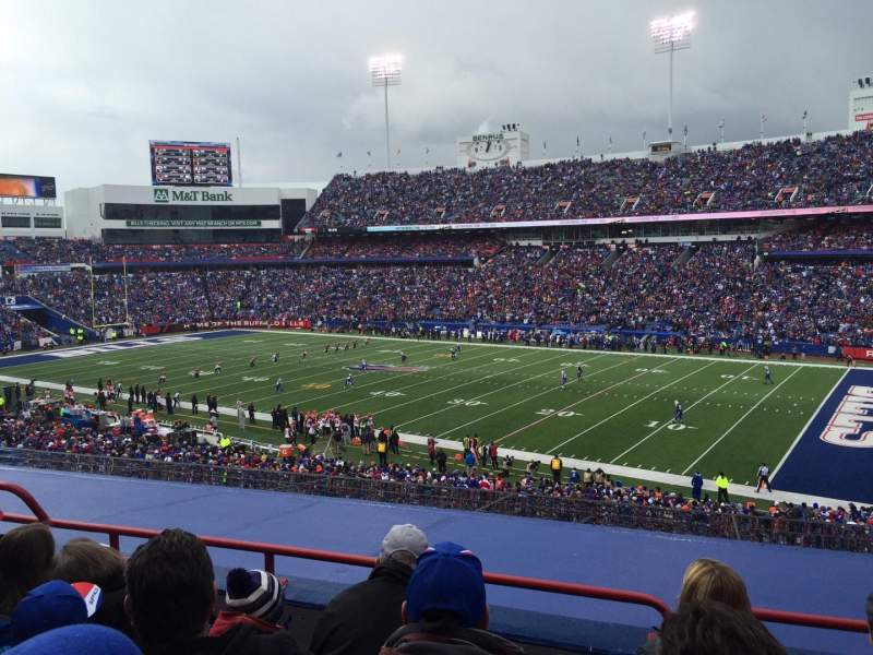 Seating view for New Era Field Section 207 Row 4 Seat 21