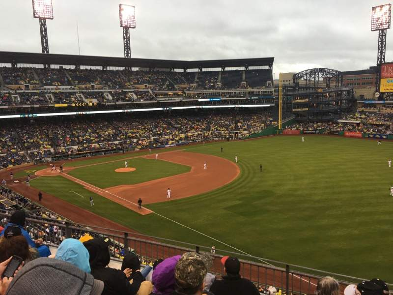 PNC Park, section: 203, row: E, seat: 1