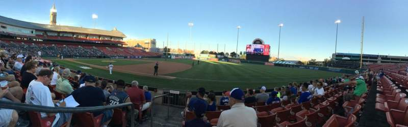 Seating view for Coca-Cola Field Section 118 Row H Seat 24
