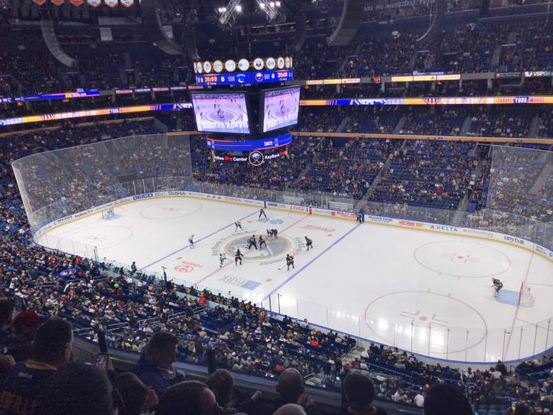 KeyBank Center, section: 304, row: 4, seat: 1