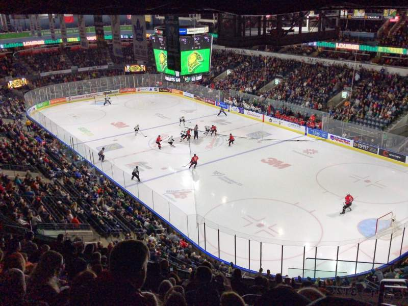 Seating view for Budweiser Gardens Section 312