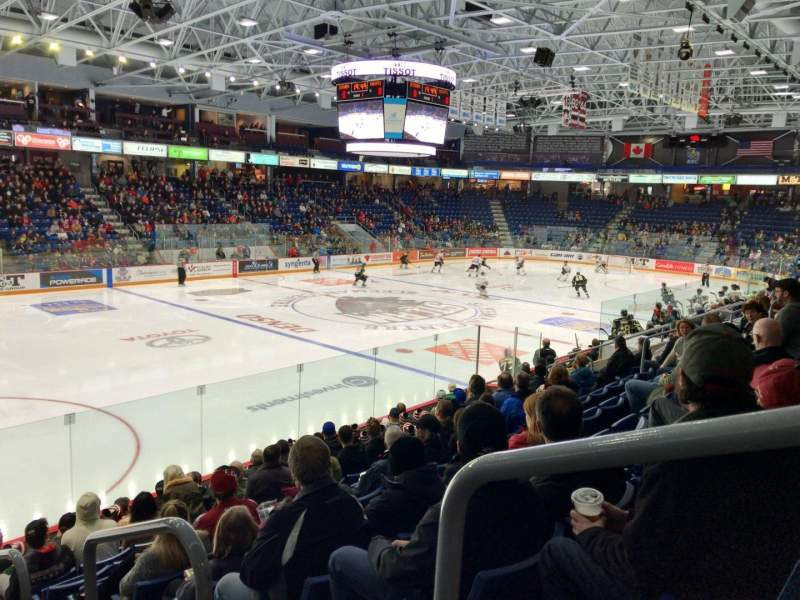 Seating view for Sleeman Centre Section 114 Row 11 Seat 101