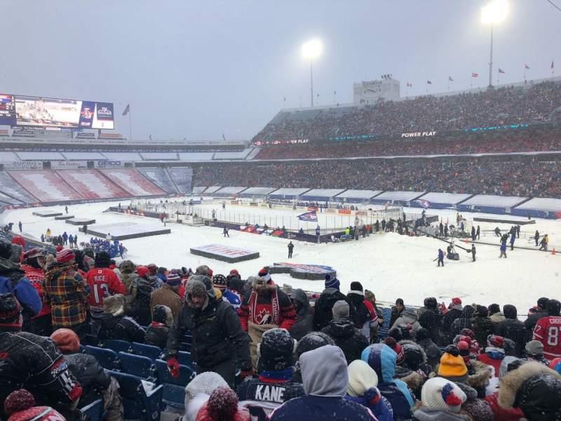 New Era Field, section: 123, row: 38, seat: 15