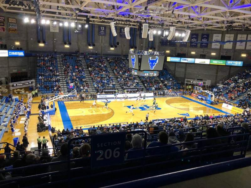 Alumni Arena (University at Buffalo), section: 308, row: A, seat: 9