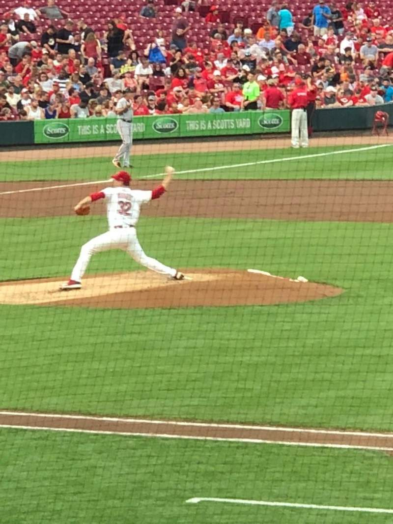 Great American Ball Park, section: 131, row: Z, seat: 10