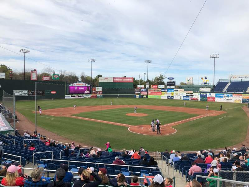 Seating view for Hadlock Field Section 207 Row I Seat 3