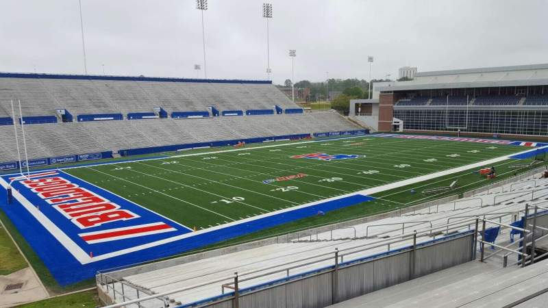 Seating view for Joe Aillet Stadium Section II Row 8 Seat 32