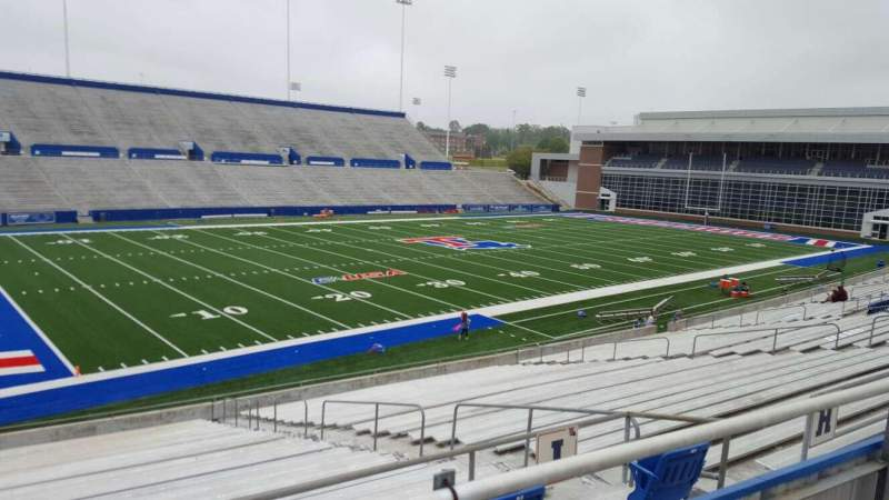 Seating view for Joe Aillet Stadium Section II Row 1 Seat 9