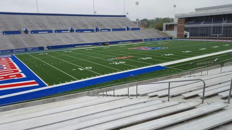 Joe Aillet Stadium, section: I, row: 22, seat: 10