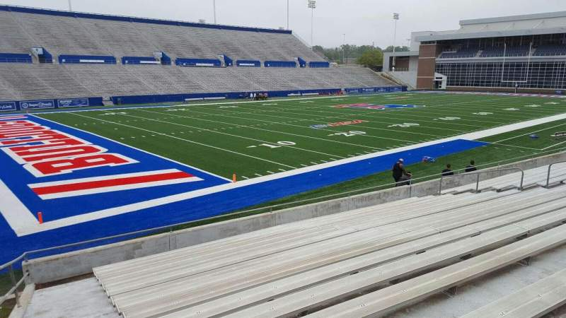 Seating view for Joe Aillet Stadium Section I Row 15 Seat 25