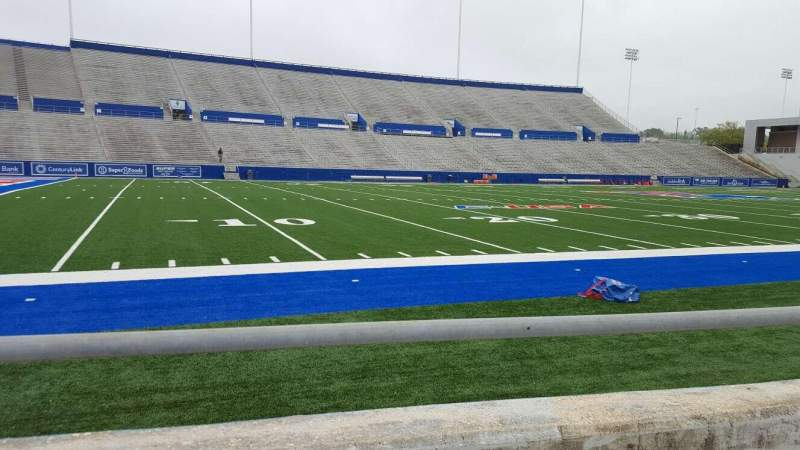 Seating view for Joe Aillet Stadium Section H Row 2 Seat 16