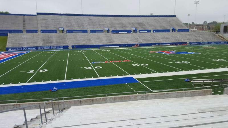 Seating view for Joe Aillet Stadium Section G Row 16 Seat 22