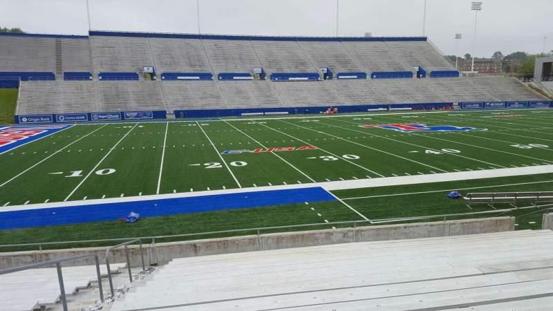 Joe Aillet Stadium, section: G, row: 16, seat: 22