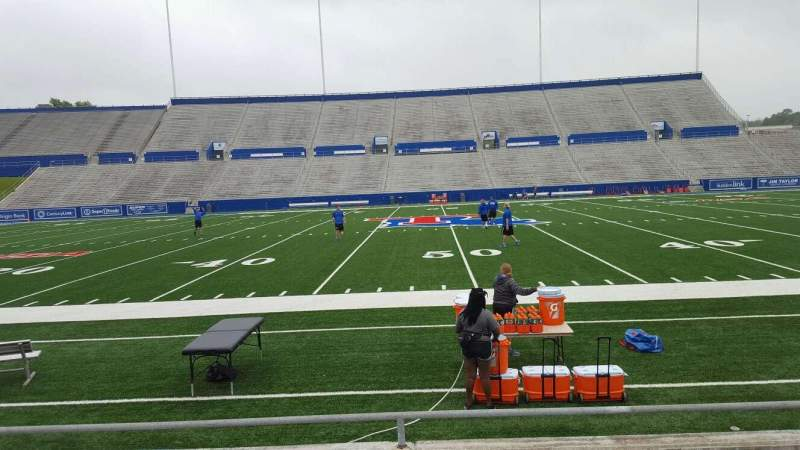 Seating view for Joe Aillet Stadium Section E Row 6 Seat 18