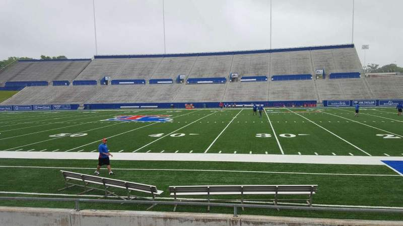 Seating view for Joe Aillet Stadium Section D Row 8 Seat 5