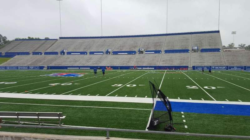 Seating view for Joe Aillet Stadium Section C Row 6 Seat 17