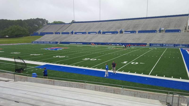 Seating view for Joe Aillet Stadium Section B Row 14 Seat 2