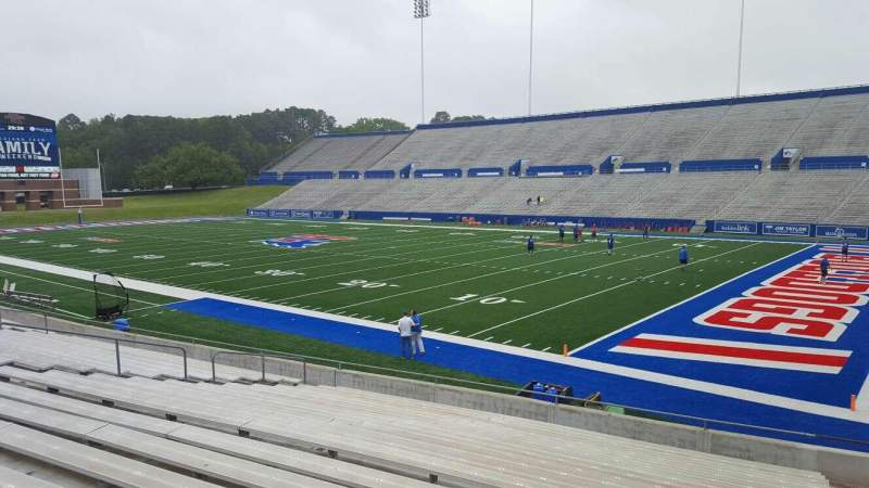 Seating view for Joe Aillet Stadium Section A Row 19 Seat 3