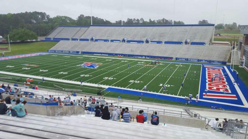 Seating view for Joe Aillet Stadium Section BB Row 41 Seat 6
