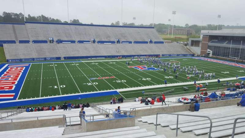 Seating view for Joe Aillet Stadium Section HH Row 41 Seat 7