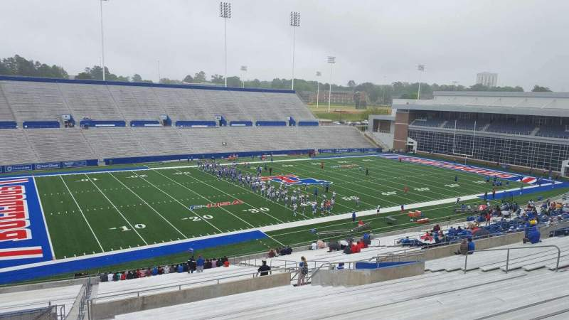 Seating view for Joe Aillet Stadium Section HH Row 46 Seat 28