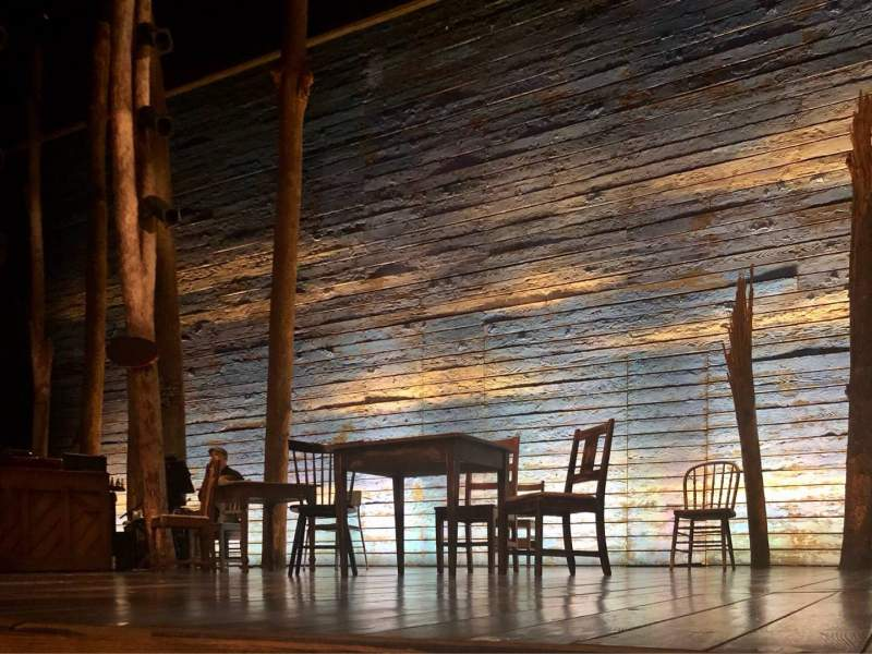 Seating view for Gerald Schoenfeld Theatre Section Orchestra C Row AA Seat 114
