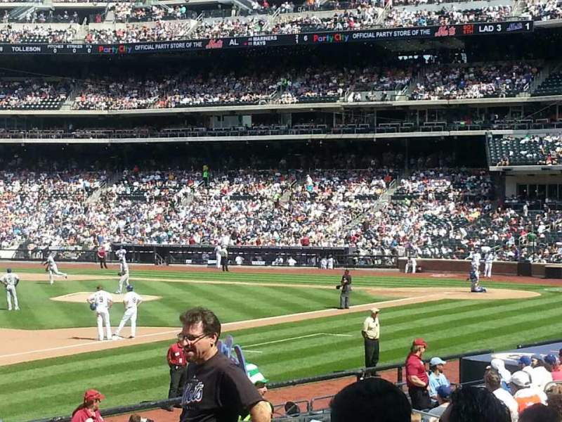 Seating view for Citi Field Section 125 Row 18 Seat 13