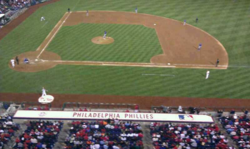 Seating view for Citizens Bank Park Section 316 Row 1 Seat 1
