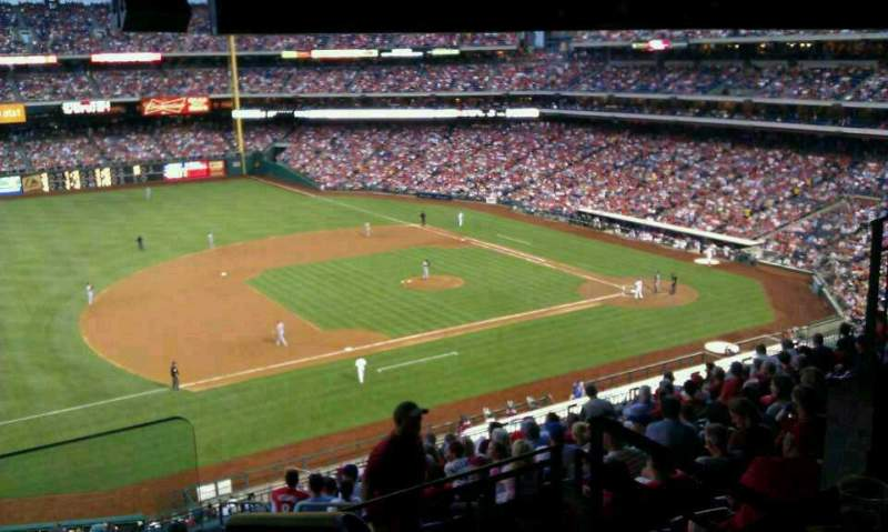 Seating view for Citizens Bank Park Section S75 Hall of Fame