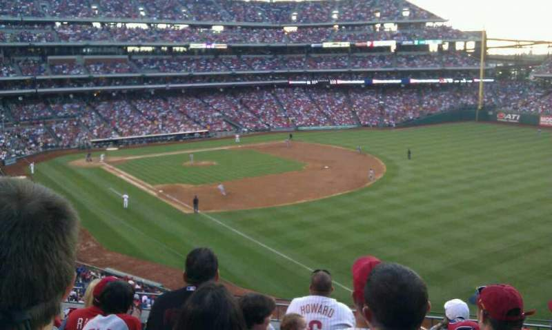 Seating view for Citizens Bank Park Section 208 Row 6 Seat 10