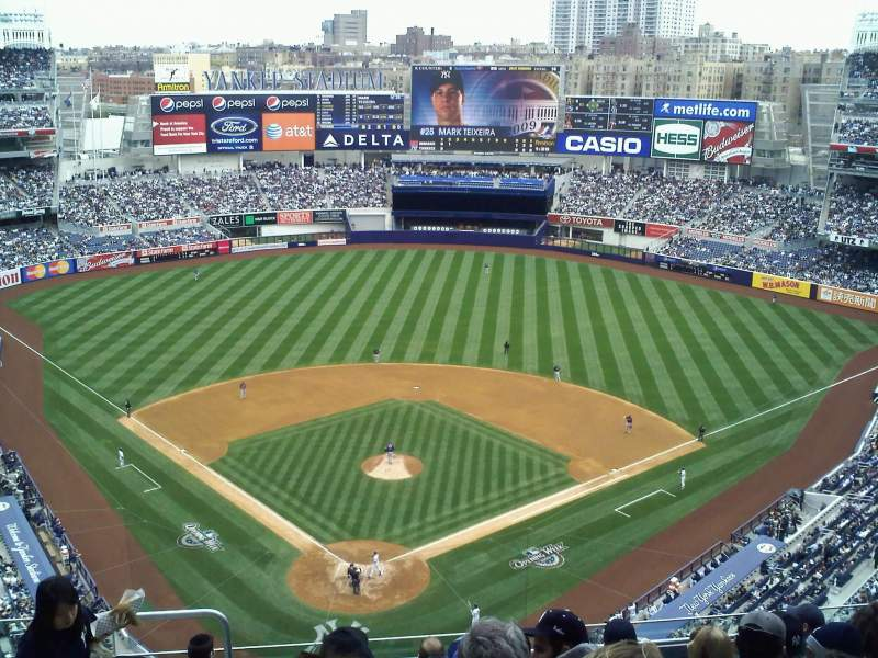 Seating view for Yankee Stadium Section 420b Row 5 Seat 7