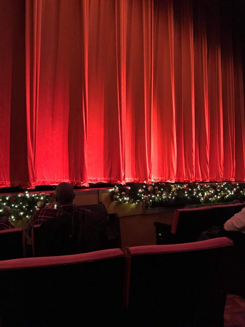 Seating view for Radio City Music Hall Section Orchestra 6 Row EE Seat 604