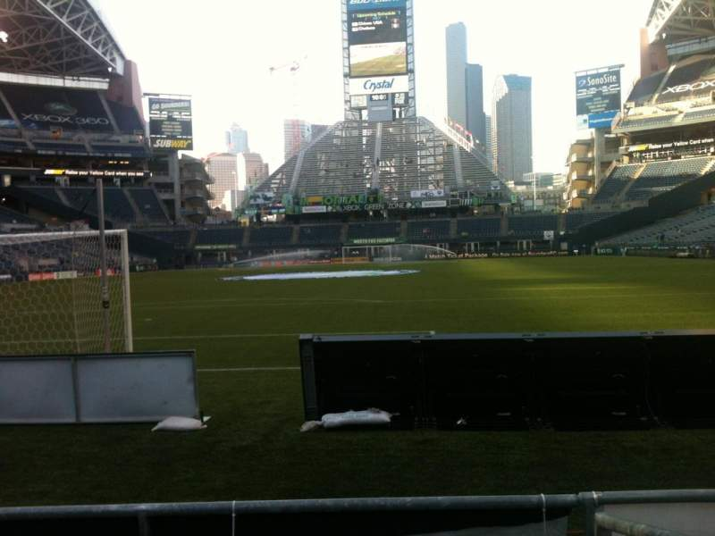 Seating view for CenturyLink Field Section 121 Row C Seat 9