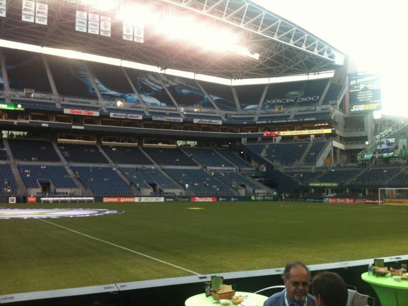 Seating view for CenturyLink Field Section 209 Row A Seat 24