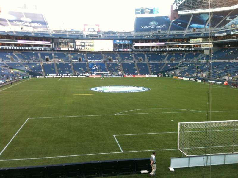 Seating view for CenturyLink Field Section 149 Row J Seat 13