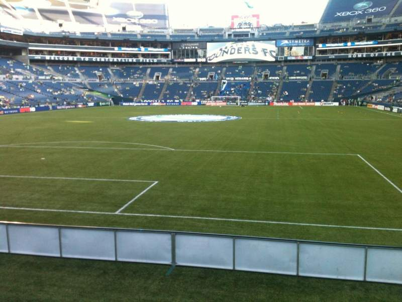 CenturyLink Field, section: 146, row: A, seat: 15
