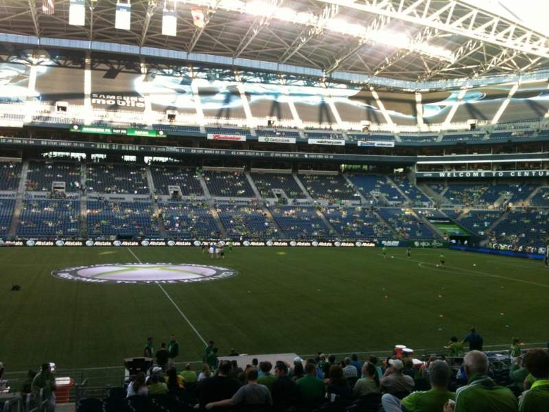 CenturyLink Field, section: 235, row: X, seat: 26