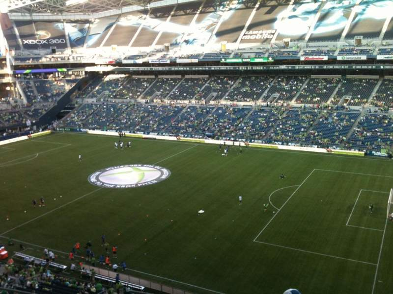 Seating view for CenturyLink Field Section 330 Row E Seat 20