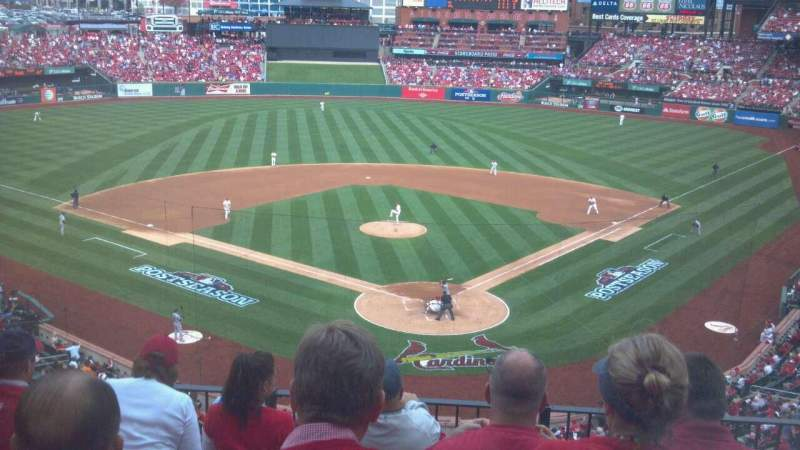 Seating view for Busch Stadium Section 251 Row 5 Seat 5